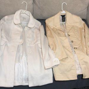 Jackets & Blazers - 2 pea coats